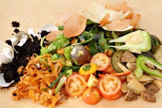 kuhinjski otpad ilustracija
